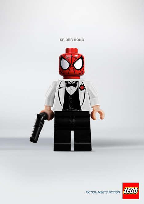 Superhero LEGO Mashups