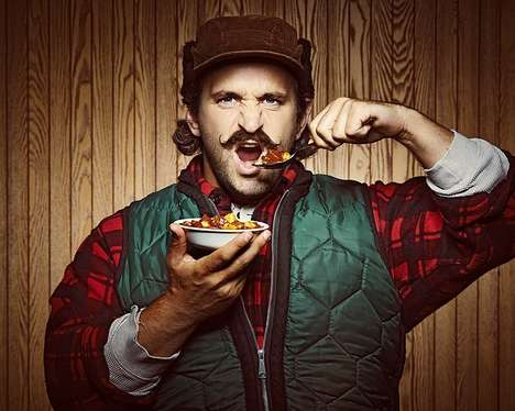 Mustache Soup Campaigns - Campbell Created 'Chunky Movember' to Raise Awareness for Men's Health