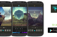 Pictoral Prism Apps - The Fragment Photography Filter App Gives Your Pictures a Geometric Effect