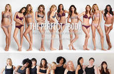 Body Diversity Campaigns - This Dear Kate Ad Celebrates All Different Types of Bodies