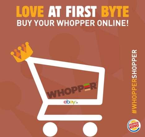 Buy-Online Burger Campaigns