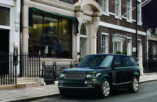 Special Operation SUVs - The Range Rover Autobiography Black Features a Gun Cabinet