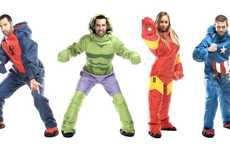 Superhero Wearable Sleeping Bags