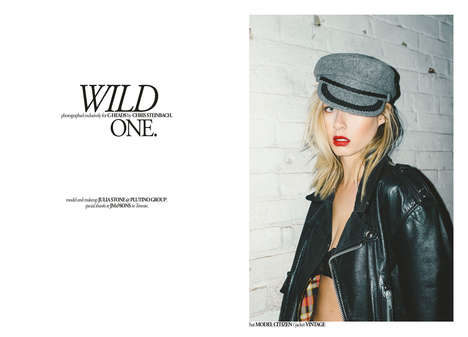 Wild Child Editorials - Chris Steinbach Photographed Julia Stone for C-Heads