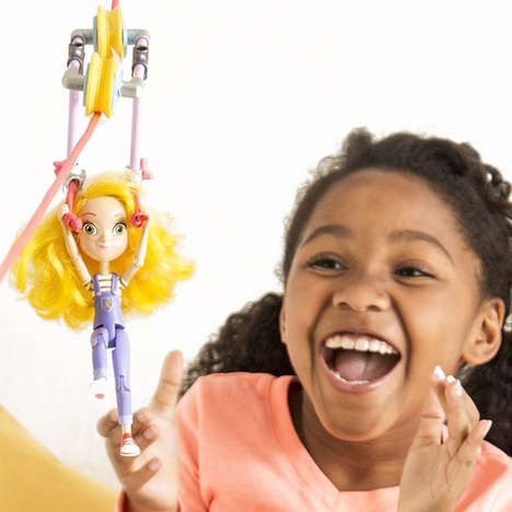 Inspiring Engineer Dolls - The Goldie Action Figure Doll Promotes Innovation and Creativity