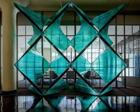 Compressed Glass Installations