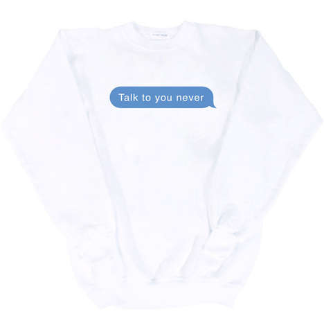Ruthless Texting Sweaters