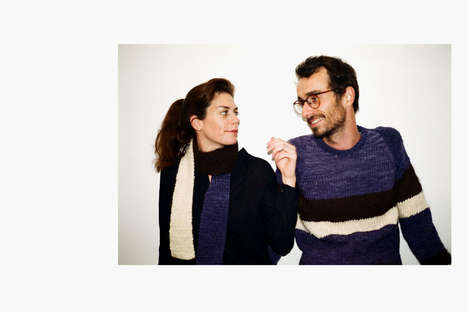 Hand-Woven Wool Collections - The TELAR by Nido Fall/Winter is Made with Love