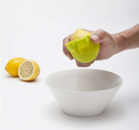 Lotus-Like Lemon Squeezers