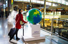 Fragrant Travel Globes - Heathrow Airport Sends You on a Trip of Smells Around the World