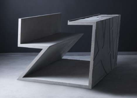 Stone Furniture Installations