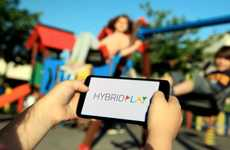Playground-Connecting Fitness Systems - The HYBRIDPLAY Fitness Gaming Device Makes Kids More Active