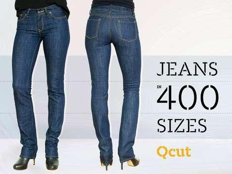 Custom-Sized Jeans