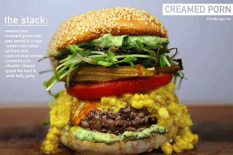 Creamed Corn Burgers