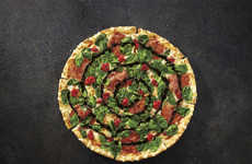 Exotic Artisan Pizzas - A New Menu of Pizza Hut Pizzas Experiments with Unusual Crusts & Toppings