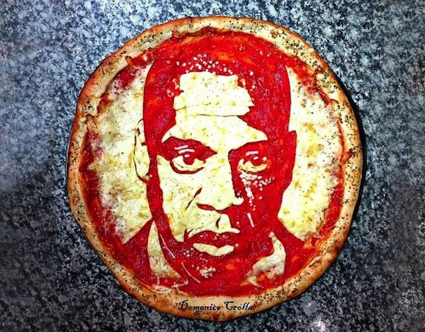 16 Examples of Creative Pizza Art