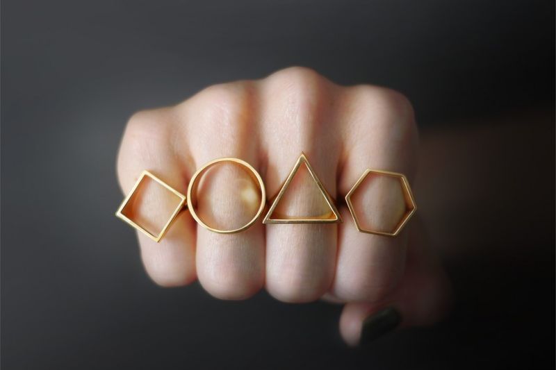 Simplistically Shaped Jewelry