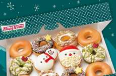 Festive Holiday Donuts - These Festive Krispy Kreme Christmas Desserts Make Celebration Tasty