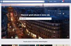 Social Travel Directories - Facebook's Places Directory Helps You Explore the Best of What's Nearby