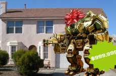 Humongous Paintball Robots - MegaBots Are Giant Robots That Hurl Paintballs At Each Other
