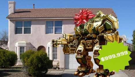 Humongous Paintball Robots