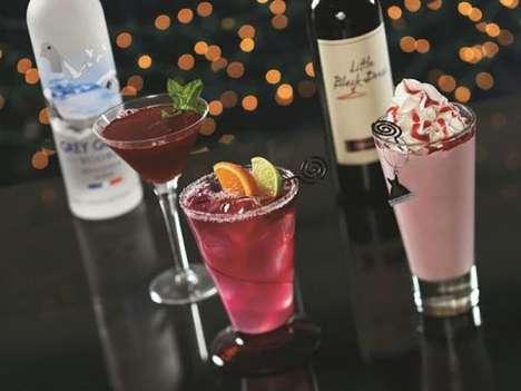 Festive Vino Milkshakes