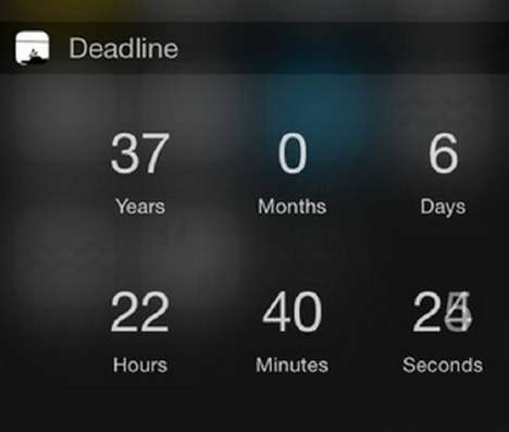 Demise-Predicting Apps - The Deadline App Can Predict Your Death