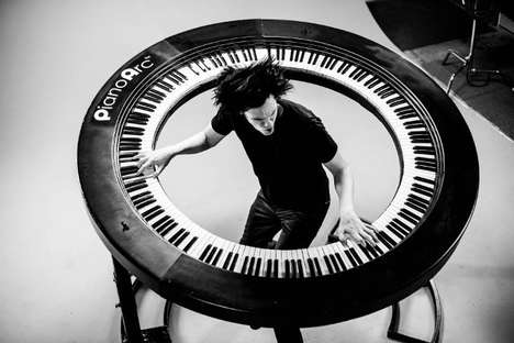 Spherical Pianos