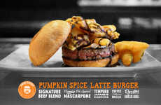Spiced Pumpkin Burgers
