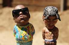 Hyperrealistic Hip-Hop Sculptures - Plastic Cell's Tupac and Biggie Art Brings Old Rivals Together