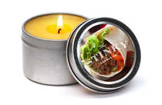 Mexican Cuisine Candles - The Burrito Scented Candle Will Have you Dreaming of Lunchtime