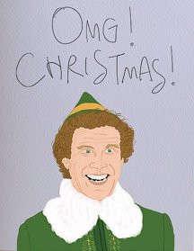 Elfin Christmas Cards