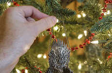 Throne-Themed Tree Ornaments - This Game of Thrones Decor Can Be Hung Up on Your Christmas Tree