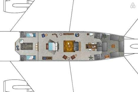 Luxury Airplane Apartments