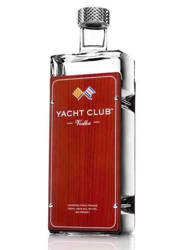 Gluten-Free Elderflower Vodkas - Yacht Club Vodka Breaks Tradition with Their Handcrafted Recipe