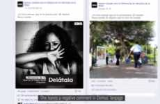 Revised Abuse Campaigns - Demus' Facebook Anti-Abuse Campaign Shows How Victims Edit Their Stories