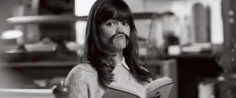 Feminine Moustache Videos