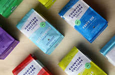 Color Spectrum Java Branding - Counter Culture Coffee is Boxed in Vibrantly Hued Packages
