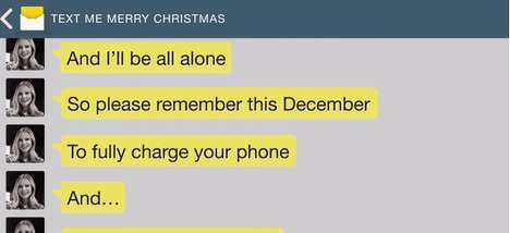 Texting Holiday Tunes