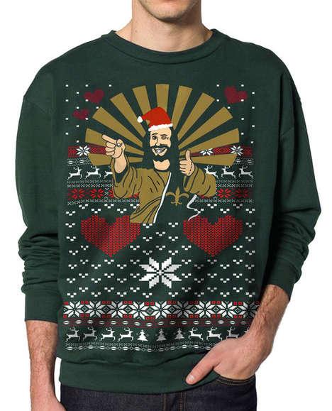 Blasphemous Christmas Sweaters