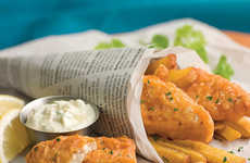 Fish-Free Filets - Gardein's Vegetarian Fish Filets Are a Great Soure of Fiber, Protein & Omega-3s