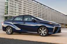 Futuristic Fuel Cell Cars