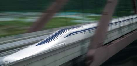 Hyper-Fast Levitating Trains - The Shinkansen Maglev Train In Japan Topped 500 KM/H
