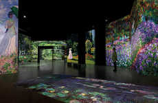 Surreal Digital Museums - The 'From Monet to Cézanne' Exhibit Explores French Impressionists