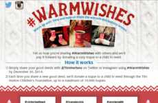 Heartwarming Social Campaigns - Tim Hortons' Warm Wishes Campaign Encourages Paying It Forward