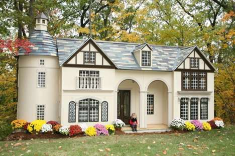 Opulent Kids Clubhouses - Lilliput Play Homes Puts a $20,000 Price Tag on Fun