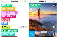 Offbeat Meme-Like Apps - Biz Stone's Super App Lets You Label Images in Quirky Ways and Share Them