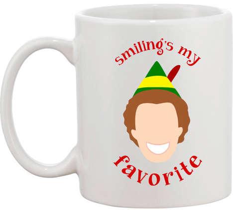 Classic Christmas Mugs