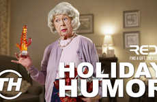 Holiday Humor - Editor Jaime Neely Counts Down Her Favorite Examples of Humorous Seasonal Campaigns