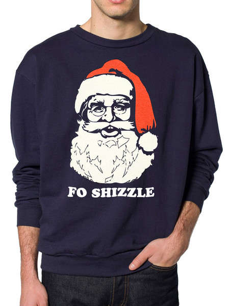 Hipster Santa Sweaters - This Hilarious Sweater Features Santa as a Hipster
